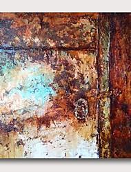 economico -Hang-Dipinto ad olio Dipinta a mano - Astratto Contemporaneo Modern Include interno della montatura