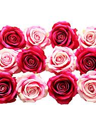 abordables -Fleurs artificielles 5 Une succursale Classique Moderne contemporain Fleurs de mariage Roses Fleurs éternelles Fleur de Table