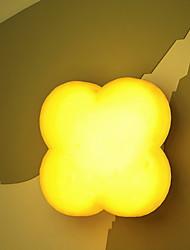 זול -1pc LED לילה אור צהוב USB חמוד / יצירתי <=36 V