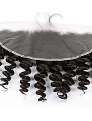 tanie -1 Pakiet Włosy brazylijskie Luźne fale Włosy virgin Akcesoria do peruk Taśma włosów z zamknięciem 8-20 in Kolor naturalny Ludzkie włosy wyplata Kreatywne Przeciwe stresowi i niepokojom Nowości