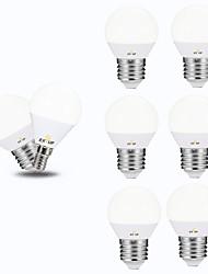 povoljno -EXUP® 6kom 5 W 450 lm E14 / E26 / E27 LED okrugle žarulje G45 12 LED zrnca SMD 2835 220-240 V / 110-130 V