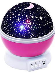 Недорогие -новинки lightme звезды звездное небо светодиод ночной свет проектор луна лампа батарея usb дети подарки спальня лампа проекционная лампа
