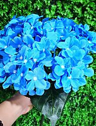 Недорогие -Искусственные Цветы 1 Филиал Односпальный комплект (Ш 150 x Д 200 см) Деревня Гортензии Букеты на стол