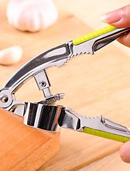 Недорогие -Нержавеющая сталь Руководство Приспособления для чеснока Инструменты Инструкция Нажмите Кухонная утварь Инструменты Чеснок 1шт