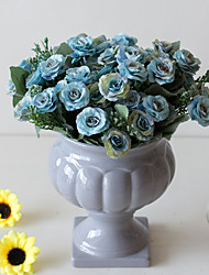 Недорогие -Искусственные Цветы 2 Филиал Классический Свадьба Пастораль Стиль Розы Вечные цветы Букеты на стол