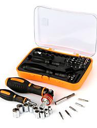 Недорогие -JAKEMY Портативные Инструменты 53 в 1 Наборы инструментов Домашний ремонт Ремонт Apple Samsung для ремонта компьютеров