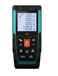 Недорогие -MILESEEY X6 70m Лазерный дальномер Карманный дизайн / Прост в применении / Высокое качество для интеллектуального измерения дома / для инженерных измерений / для строительства