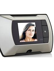 Недорогие -Беспроводная цветная 2,4-дюймовая цифровая цветная видеодомофон