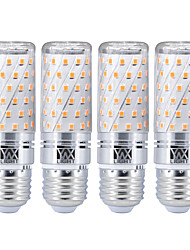 levne -YWXLIGHT® 4ks 16 W 1600 lm E26 / E27 LED corn žárovky 80 LED korálky SMD 2835 Teplá bílá Chladná bílá 85-265 V
