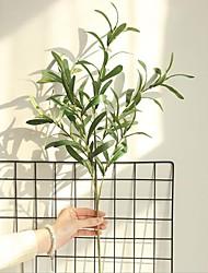 halpa -Keinotekoinen Flowers 1 haara Klassinen minimalistisesta Pastoraali Tyyli Kasvit Seinäkukka