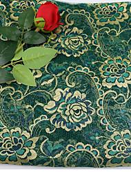 economico -Di pizzo Floreale Anelastico 150 cm larghezza tessuto per Abbigliamento e moda venduto di il Yarda