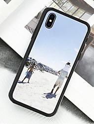 preiswerte -Hülle Für Apple iPhone X / iPhone XS Muster Ganzkörper-Gehäuse Landschaft / Ölgemälde Hart Acryl / Kunststoff für iPhone XS / iPhone XR / iPhone X