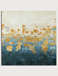 voordelige -Hang-geschilderd olieverfschilderij Handgeschilderde - Abstract Modern Inclusief Inner Frame