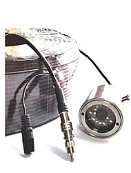 Недорогие -1/3 дюйма sony ccd имитируемая камера / водонепроницаемая камера Цветная подводная камера ip69 (интенсивность регулируемого света)