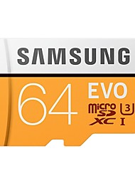 Недорогие -SAMSUNG 64 Гб Карточка TF Micro SD карты карта памяти Class10 U3 C10 4K EVO plus