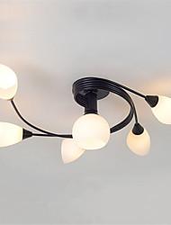 hesapli -JSGYlights 6-Işık Gömme Montajlı Işıklar Ortam Işığı Boyalı kaplamalar Metal Cam 110-120V / 220-240V