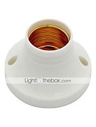 billige -1pc E27 til E27 Bulb Accessory Plast Lyspære socket