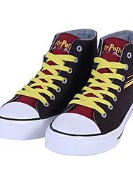 baratos -Sapatos de Cosplay / Botas de Fantasia Fantasias Magic Harry Anime Sapatos de Cosplay Tela de pintura / Borracha Todos / Unisexo Trajes da Noite das Bruxas