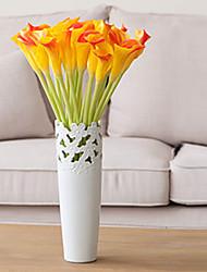 Недорогие -Искусственные Цветы 5 Филиал Классический европейский Простой стиль Калла Букеты на стол