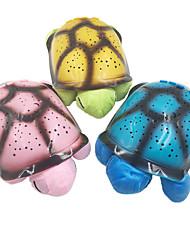 Недорогие -1 комплект черепаха Свет небесного проектора Красный / Синий / Желтый Аккумуляторы AA / USB Батарея