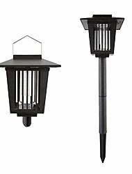 tanie -BRELONG® 1 szt. 0.5 W Lampa przeciw komarom Wodoodporny / Na energię słoneczną / Dekoracyjna Biały / Fiolet 3.7 V Oświetlenie zwenętrzne / Dziedziniec / Ogród 1 Koraliki LED
