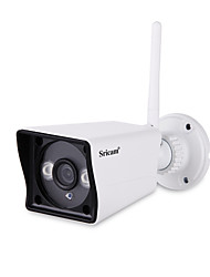 Недорогие -Sricam® 1080p ip-камера беспроводная HD 2.0MP WLAN H.264 безопасности видеонаблюдения Pan / плитка Wi-Fi радионяня sp023
