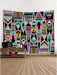 abordables -Noël / Famille Décoration murale 100 % Polyester Bohême Art mural, Tapisseries murales Décoration