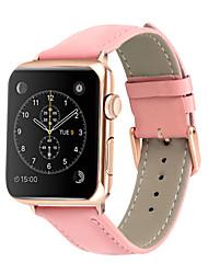 Недорогие -ремешок для часов для apple series 4 яблока кожаный ремешок из натуральной кожи ремешок