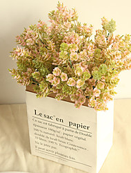 abordables -Flores Artificiales 1 Rama Clásico Europeo Plantas Flores eternas Flor de Mesa