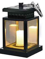 preiswerte -1 stück 0,5 watt 3,7 v hängen solarleuchten wasserdicht led outdoor kerze laterne dekoriert in gartenterrasse deck