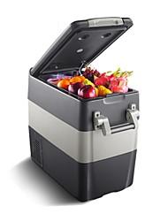 Недорогие -litbest 50l автомобильный холодильник с сенсорным экраном / интеллектуальная постоянная температура, нижний предел может достигать -20 ° C 12/24/220 В