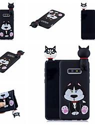 halpa -Etui Käyttötarkoitus Samsung Galaxy S9 Plus / S8 Plus Kuvio Takakuori Koira / Piirretty Pehmeä TPU varten S9 / S9 Plus / S8 Plus
