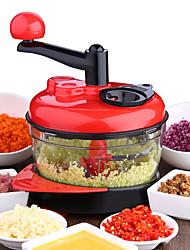 hesapli -Sebze kesici kıyıcı öğütücüler manuel et sebze dilimleme değirmeni salata makinesi mutfak araçları 3 hız ayarlanabilir