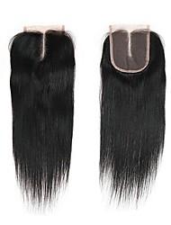 billige -1 Bundle Brasiliansk hår Lige Jomfruhår Remy Menneskehår Menneskehår, Bølget Hårforlængelse af menneskehår 8-20inch Naturlig Farve Menneskehår Vævninger Nyfødt Vandfald Nuttet Menneskehår Extensions