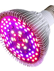 preiswerte -50 W Wachsende Glühbirne 1200 lm E26 / E27 78 LED-Perlen SMD 5730 Dekorativ Mehrere Farben 85-265 V, 1pc