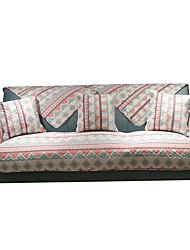 billiga -soffa kudde Damask Färgat garn 100 % bomull överdrag
