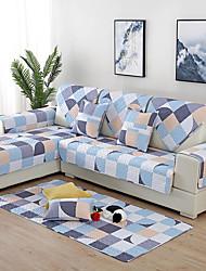 זול -כיסוי ספה / כרית הספה צבעים מרובים / עכשווי מרופד כותנה כיסויים