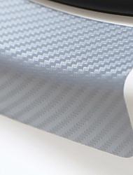 Недорогие -Универсальный 4 шт. 60 см х 6,7 см подоконник потертости против царапин углеродного волокна авто стикер двери автомобильные аксессуары для укладки