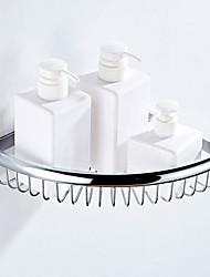 levne -Polička do koupelny kreativita Moderní Mosaz 1ks - Koupelnové Jednolůžko Nástěnná montáž