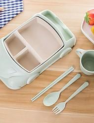 hesapli -1set Yemek Takımları yemek takımı Plastikler Isıya dayanıklı Yeni Dizayn
