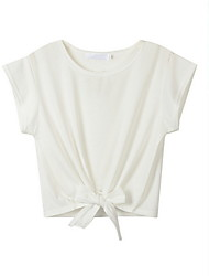 お買い得  -女性用 シャツ フラワー グレー M