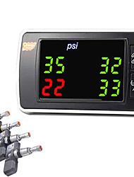 Недорогие -контроль давления в шинах беспроводной контроль давления в шинах tpms внутренняя сигнализация давления в шинах манометр
