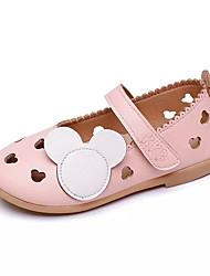 Недорогие -Девочки Обувь Полиуретан Весна Удобная обувь На плокой подошве для Дети / Для подростков Бежевый / Розовый