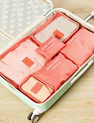 Недорогие -Органайзер для чемодана / Набор для путешествий Большая вместимость / Компактность / Защита от пыли для Сеть / Нейлон 37.5*27*12 cm Все / Универсальные Путешествия / Сумка для аксессуаров