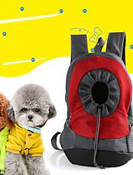 Недорогие -Собаки Коты Переезд и перевозные рюкзаки Животные Корпусы Путешествия Пэчворк Красный Зеленый Синий