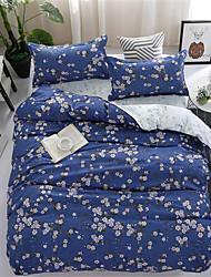 billige -Sengesett Blomstret / Moderne Polyester Trykket 4 delerBedding Sets