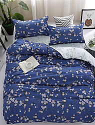 ieftine -Seturi Duvet Cover Floral / Contemporan Poliester Imprimat 4 PieseBedding Sets