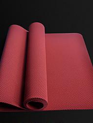 Недорогие -Коврик для йоги Мягкость, Эластичный, Липкий, Дышащий TPE Для Лиловый, Красный, Синий