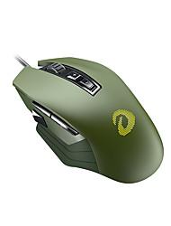 levne -dareu em915r drátové usb optická herní myš rgb světlo 600/1200/2400/3600/4800/6000 dpi 6 nastavitelných dpi úrovně 8 ks klíče