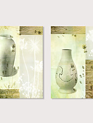 Недорогие -С картинкой Отпечатки на холсте - Натюрморт Фото Modern Репродукции